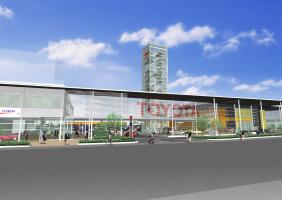 トヨタ複合販売店舗計画
