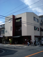 店舗付き二世帯住宅
