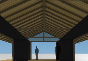 ハイブリッド別荘計画(コンテナ+木造)