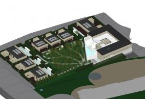 ホテルボーバロン増築計画(コンテナ建築)