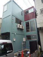 三階建て住宅(コンテナ建築)